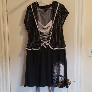 Torrid Nightmare Before Christmas 2x dress